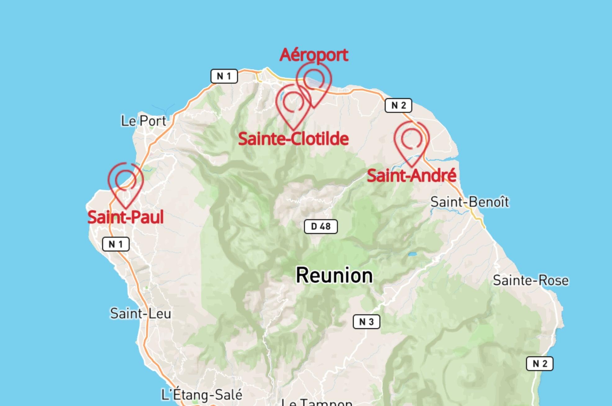Les agences de location de voitures à La Réunion avec Multiauto
