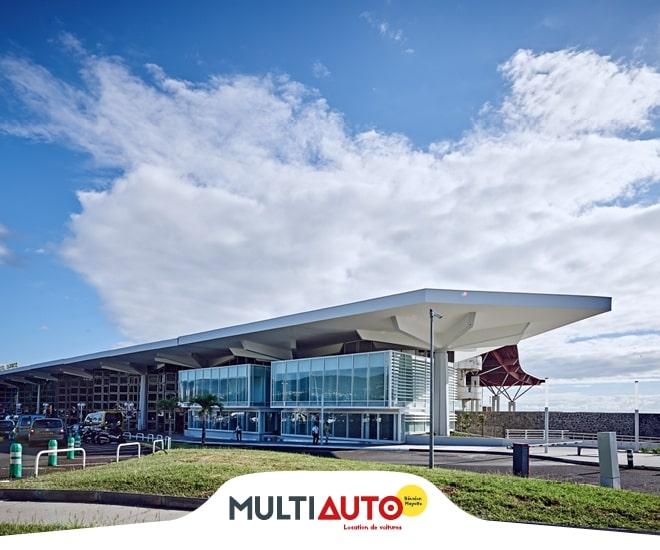 Location voiture à l'aéroport de Saint-Denis de La Réunion