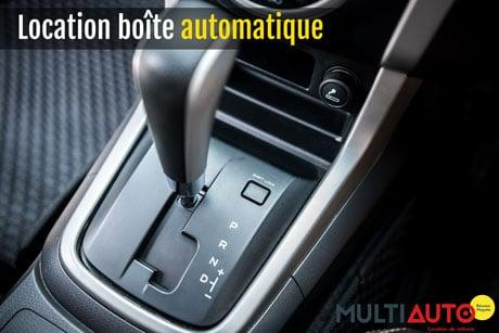 Louer une voiture avec boite automatique, c'est possible à La Réunion