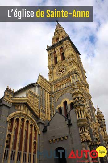 Que voir avec votre location voiture Sainte-Anne ? La jolie petite église bien évidemment !